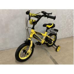 Велосипед 2-х колесный TEACH TEAM 135-12 с доп.колесами