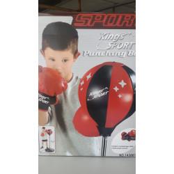 Боксерская груша с перчатками с подвеской 110 см 143881/1