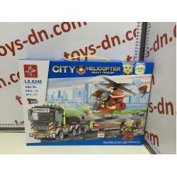 Конструктор CITY LXA346