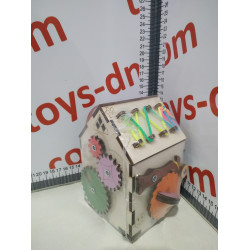 Домик без электрики №10 (10*10*15см)